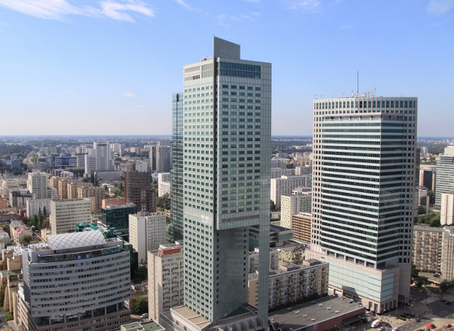 Warszawa - panorama miasta